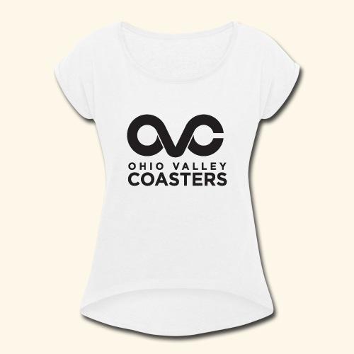 OVC Basic Logo - Women's Roll Cuff T-Shirt