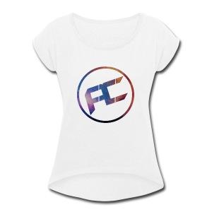 Aleconfi - Women's Roll Cuff T-Shirt