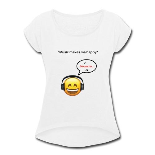 Music - Women's Roll Cuff T-Shirt