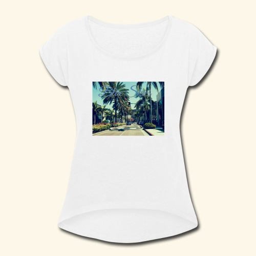 Blue Skies Beverley Hills Edition - Women's Roll Cuff T-Shirt