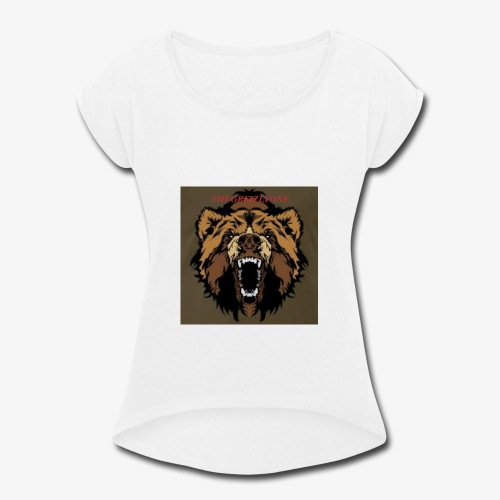 TheGrizzlyOne's Merch - Women's Roll Cuff T-Shirt