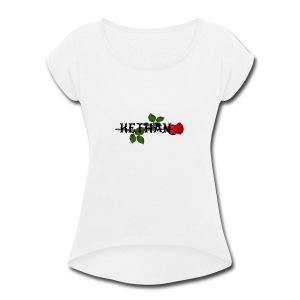 KETHAN - Women's Roll Cuff T-Shirt