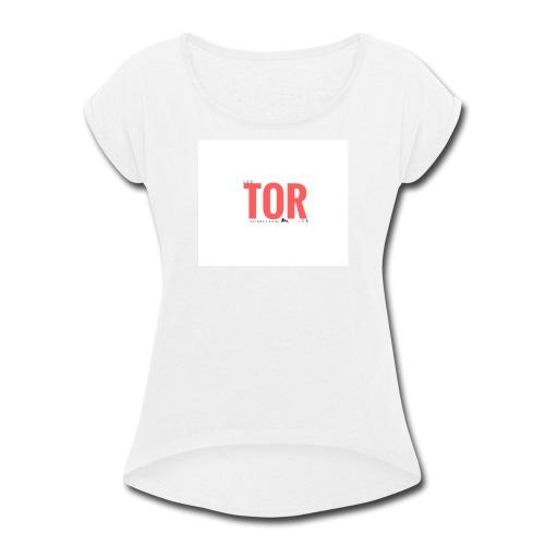Logo officiel des Terre-O-Ristes - Women's Roll Cuff T-Shirt