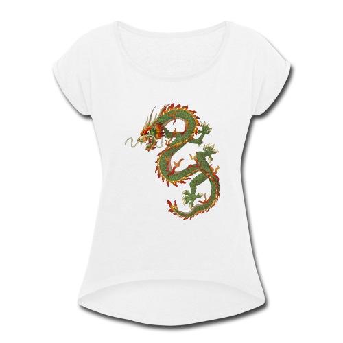 DRRAGON - Women's Roll Cuff T-Shirt