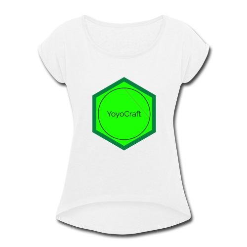 Logomakr 2ZQxx3 - Women's Roll Cuff T-Shirt