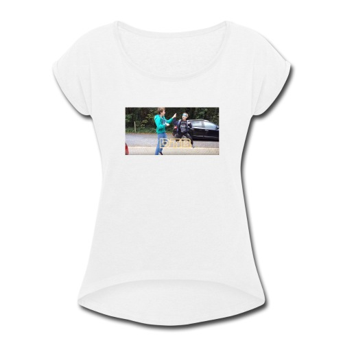 DTB Highfive - Women's Roll Cuff T-Shirt