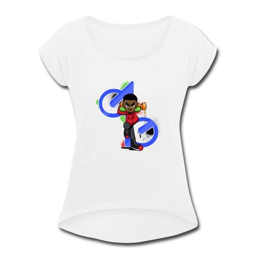 OBE1plays - Women's Roll Cuff T-Shirt