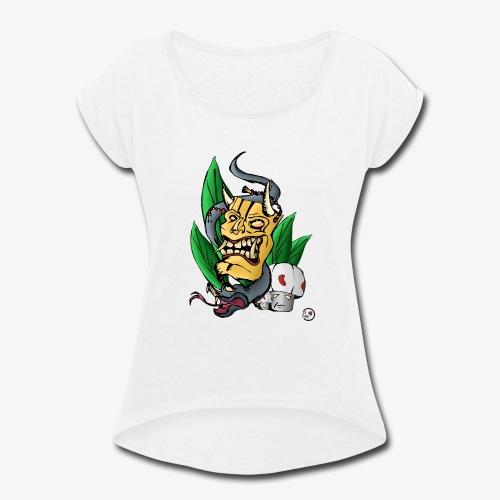 Mask´s - Women's Roll Cuff T-Shirt