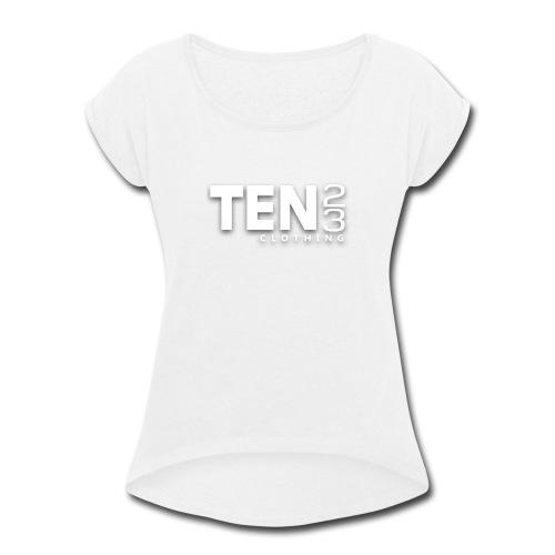 1023 Corporate - Women's Roll Cuff T-Shirt