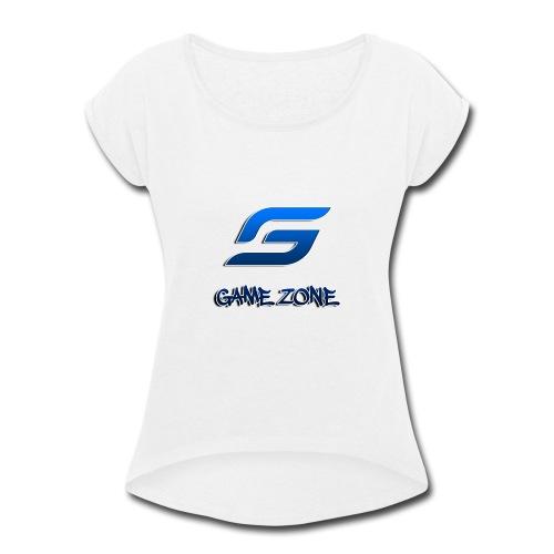 Game Zone - Women's Roll Cuff T-Shirt