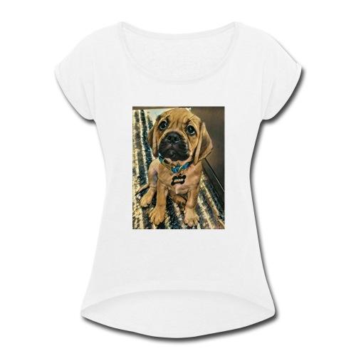 Baby Eddie - Women's Roll Cuff T-Shirt