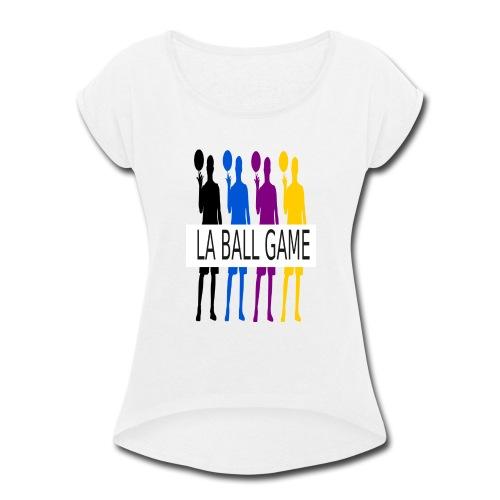 new design - Women's Roll Cuff T-Shirt