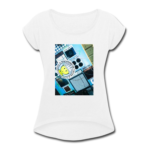 skate - Women's Roll Cuff T-Shirt