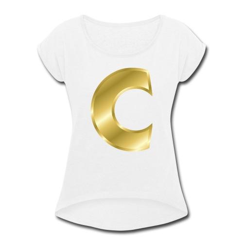 C - Women's Roll Cuff T-Shirt