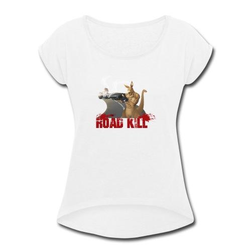 4000x4000 - Women's Roll Cuff T-Shirt