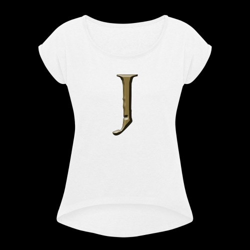J - Women's Roll Cuff T-Shirt