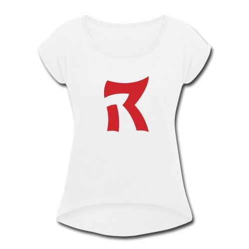 RedZoneRobert - Women's Roll Cuff T-Shirt