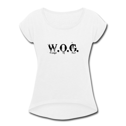 wog1 - Women's Roll Cuff T-Shirt