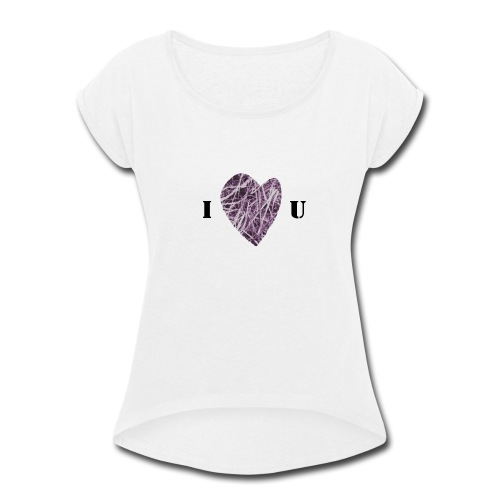 FlowHeart wikiMINI 4 - Women's Roll Cuff T-Shirt