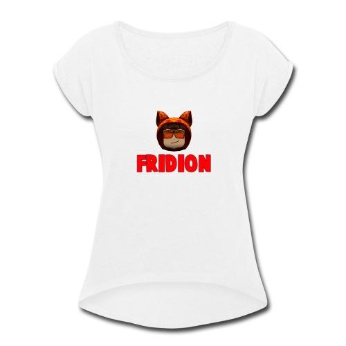 Fridion Button - Women's Roll Cuff T-Shirt