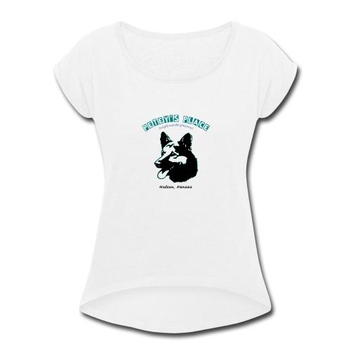 Petey's Place - Women's Roll Cuff T-Shirt
