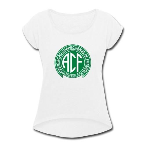 CHAPECOENSE - Women's Roll Cuff T-Shirt