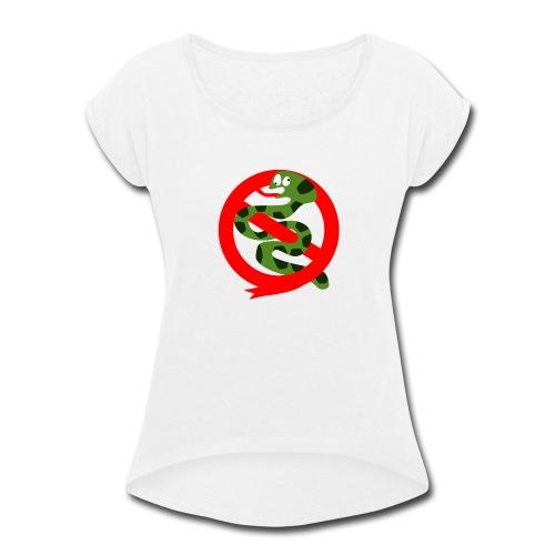 Official Unofficial Hoggorm Busters Logo - Women's Roll Cuff T-Shirt