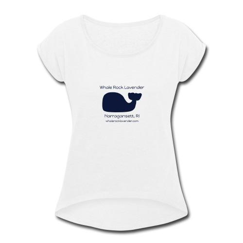 WRL Logo CMYK w URL 1024x768 070917 - Women's Roll Cuff T-Shirt