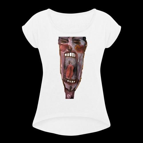 My Anguish - Women's Roll Cuff T-Shirt