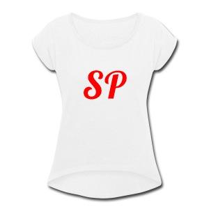 sp - Women's Roll Cuff T-Shirt