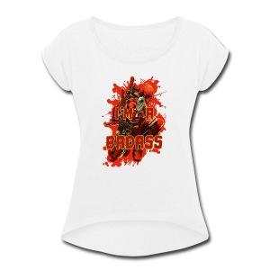 Deadpool - Women's Roll Cuff T-Shirt