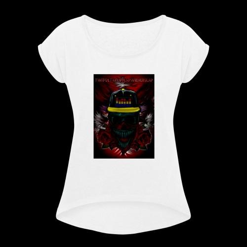 FlipFlap Nation - Women's Roll Cuff T-Shirt