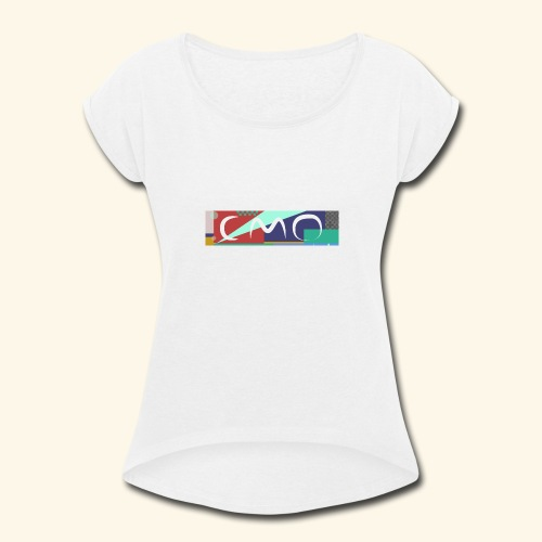 cmologo - Women's Roll Cuff T-Shirt