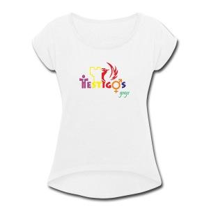 Cool Design - Women's Roll Cuff T-Shirt
