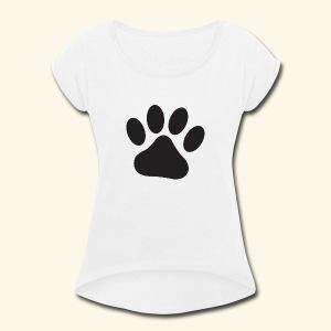 Kenny's Paw - Women's Roll Cuff T-Shirt