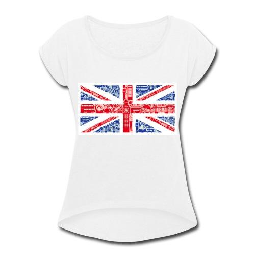 London - Women's Roll Cuff T-Shirt