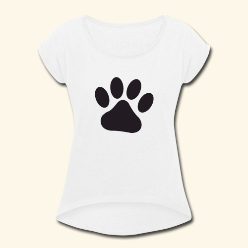Kenny's Paw - Women's Roll Cuff T-Shirt