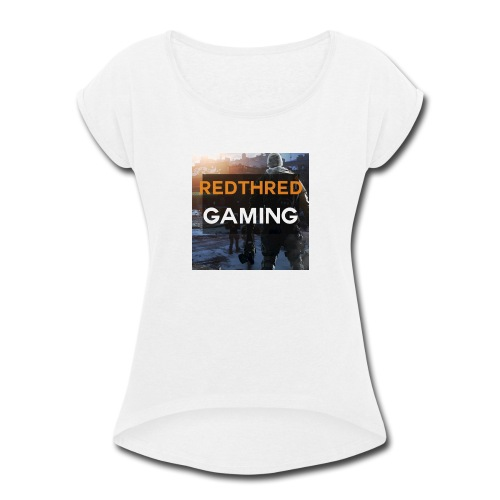The Logo Collection - Women's Roll Cuff T-Shirt
