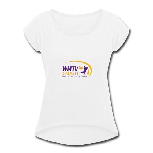 WMTV Merchandise - Women's Roll Cuff T-Shirt