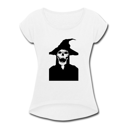 Dead witch - Women's Roll Cuff T-Shirt