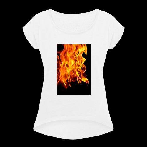 IMG f1r3 - Women's Roll Cuff T-Shirt