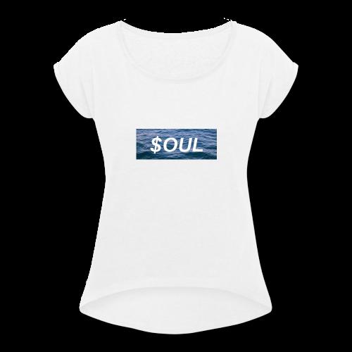 FLOW IDK - Women's Roll Cuff T-Shirt