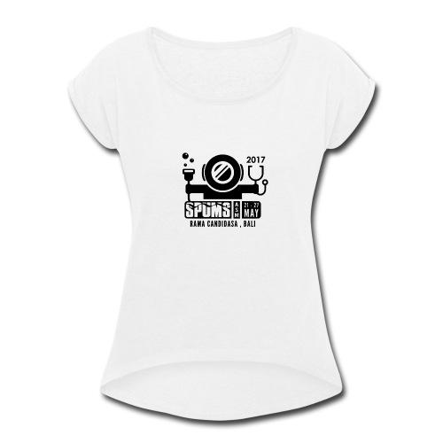 SPUMS ASM 2017 - Women's Roll Cuff T-Shirt