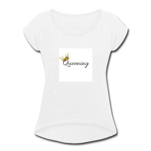25550427 10208427110793591 2007069961855045778 n - Women's Roll Cuff T-Shirt