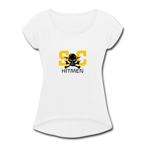 Steel CIty Hitmen - Women's Roll Cuff T-Shirt
