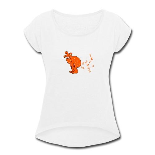 pupsmonster - Women's Roll Cuff T-Shirt
