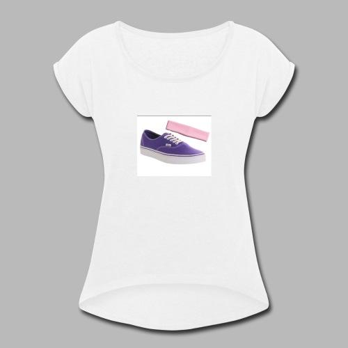 purple vans headbands - Women's Roll Cuff T-Shirt