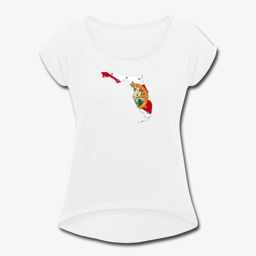 FLORIDA - Women's Roll Cuff T-Shirt