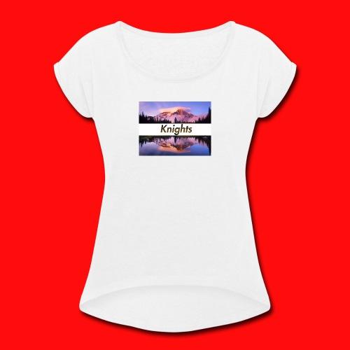 yuhhh - Women's Roll Cuff T-Shirt