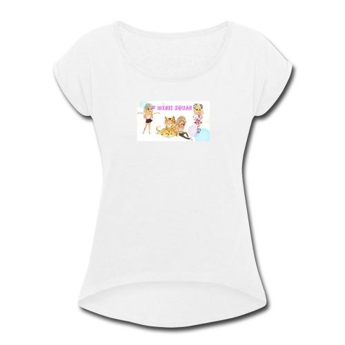 Megie Merch - Women's Roll Cuff T-Shirt